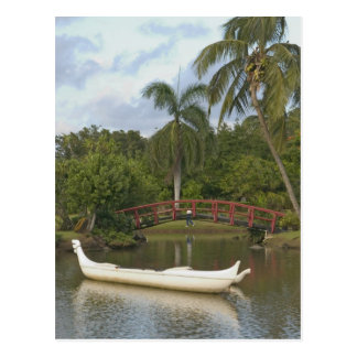 USA, Hawaii, Kauai, Smith Family Luau Garden Postcard
