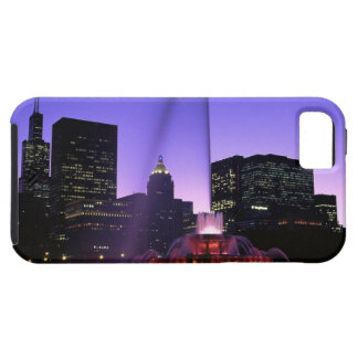 USA, IL, Chicago. Buckingham Fountain in Grant iPhone 5 Covers