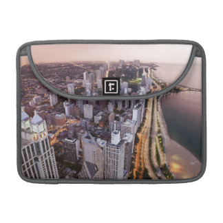 USA, Illinois, Chicago, Aerial view of Lake Sleeve For MacBook Pro