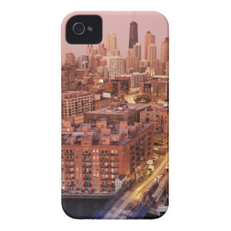 USA, Illinois, Chicago, Chicago River 2 iPhone 4 Case-Mate Case