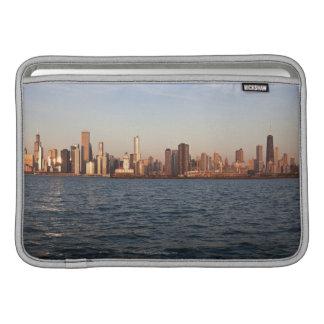USA, Illinois, Chicago, City skyline over Lake MacBook Sleeve