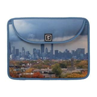 USA, Illinois, Chicago, cityscape Sleeve For MacBooks