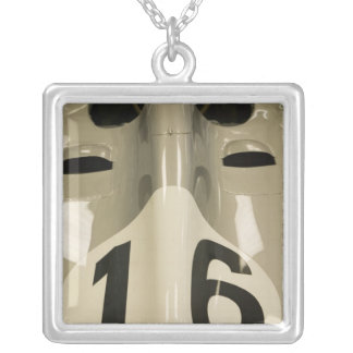 USA, Indiana, Indianapolis: Indianapolis Motor 4 Silver Plated Necklace