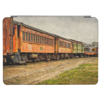 USA, Indiana. The North Mudson Railroad Museum iPad Air Cover