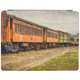 USA, Indiana. The North Mudson Railroad Museum iPad Cover