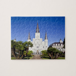 USA, Louisiana, New Orleans. French Quarter, Jigsaw Puzzle