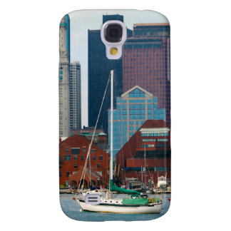 USA, Massachusetts. Boston Waterfront Skyline Galaxy S4 Case