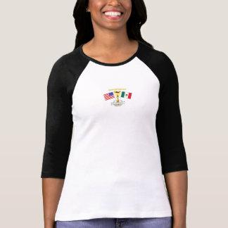 USA Mexico International Student's Shirt