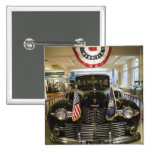 USA, Michigan, Dearborn: The Henry Ford Museum, 15 Cm Square Badge