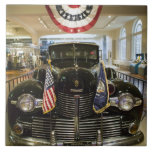 USA, Michigan, Dearborn: The Henry Ford Museum, Large Square Tile
