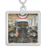 USA, Michigan, Dearborn: The Henry Ford Museum, Square Pendant Necklace