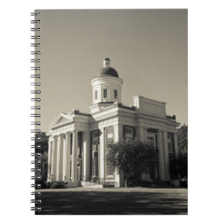 USA, Mississippi, Canton. Cinema town of central Spiral Notebook
