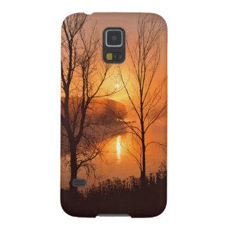 USA, New England, Maine. Autumn Sunrise Cases For Galaxy S5