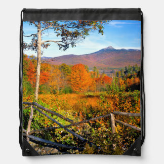 USA, New England, New Hampshire, Chocorua Drawstring Bag