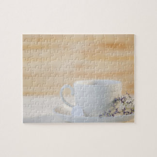 USA, New Jersey, Jersey City, cup and saucer Jigsaw Puzzle