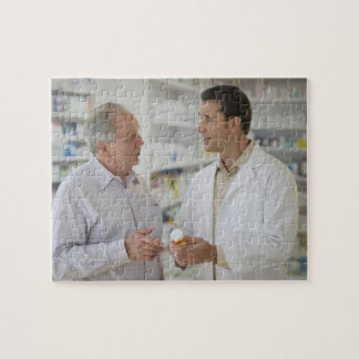 USA, New Jersey, Jersey City, Pharmacist Jigsaw Puzzle