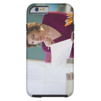USA, New Jersey, Jersey City, portrait of Tough iPhone 6 Case