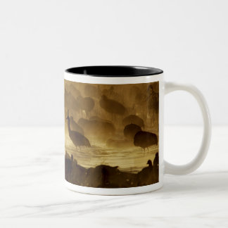 USA, New Mexico, Bosque del Apache National 2 Two-Tone Coffee Mug