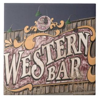 USA, New Mexico, Cloudcroft: Mountain Town (el. Tile