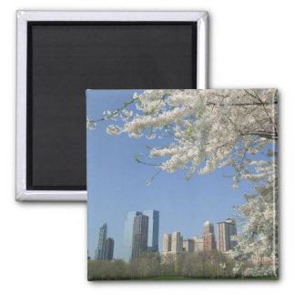 USA, New York, New York City, Manhattan: 4 Square Magnet