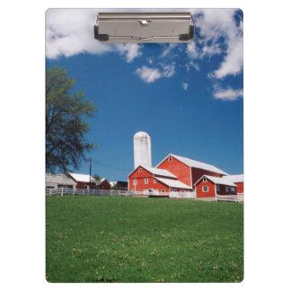 USA, New York, Sharon Springs, Farm Clipboards