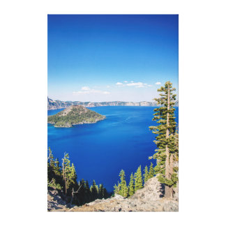 USA, Oregon, Crater Lake National Park 2 Canvas Print