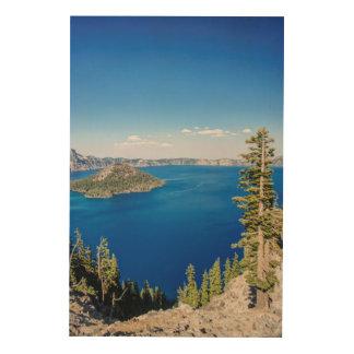USA, Oregon, Crater Lake National Park 2 Wood Canvas