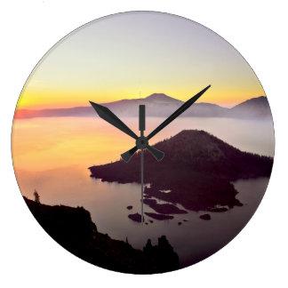 USA, Oregon, Crater Lake National Park 3 Wall Clocks