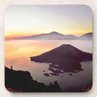 USA, Oregon, Crater Lake National Park 3 Drink Coaster