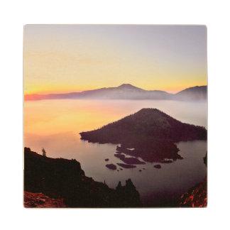 USA, Oregon, Crater Lake National Park 3 Wood Coaster