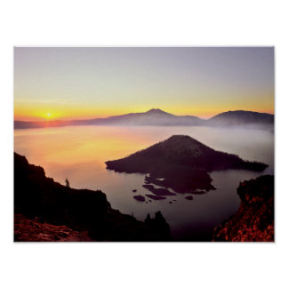 USA, Oregon, Crater Lake National Park 3 Poster
