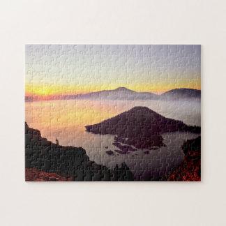 USA, Oregon, Crater Lake National Park 3 Puzzles