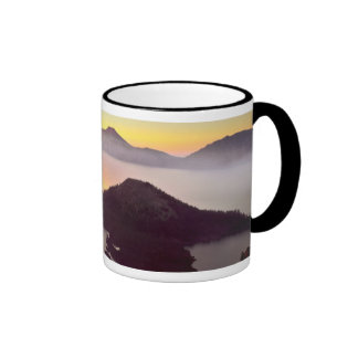USA, Oregon, Crater Lake National Park 3 Ringer Mug