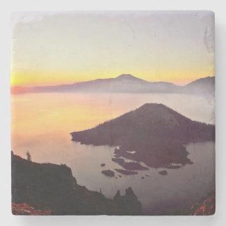USA, Oregon, Crater Lake National Park 3 Stone Coaster