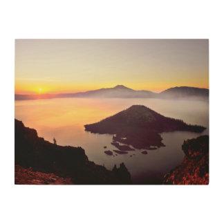 USA, Oregon, Crater Lake National Park 3 Wood Prints