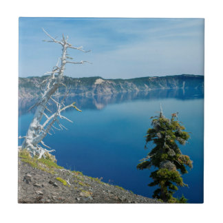USA, Oregon, Crater Lake National Park 4 Ceramic Tile