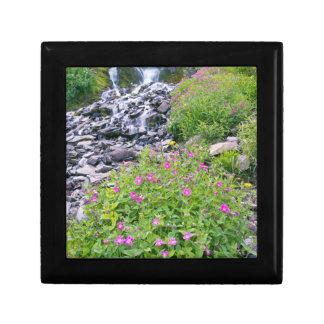 USA, Oregon, Crater Lake National Park Small Square Gift Box