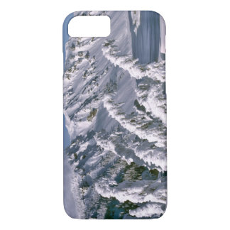 USA, Oregon, Crater Lake NP. Trees bow under the iPhone 7 Case
