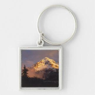 USA, Oregon, Mt. Hood National Forest. Rolling Key Ring