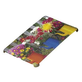 USA, Oregon, Portland. Antique enamelware Case For The iPad Mini