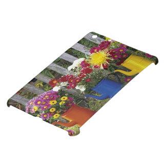 USA, Oregon, Portland. Antique enamelware Cover For The iPad Mini