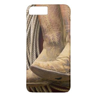 USA, Oregon, Seneca, Ponderosa Ranch. Close-up iPhone 8 Plus/7 Plus Case
