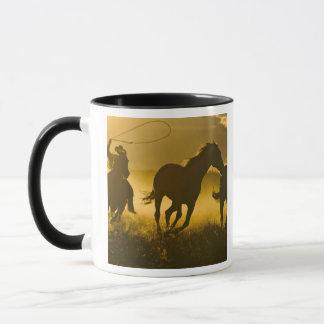 USA, Oregon, Seneca, Ponderosa Ranch. Mug