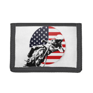 USA Speedway Trifold Wallet