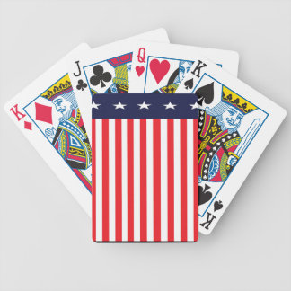 USA stars and Stripes Bicycle Playing Cards