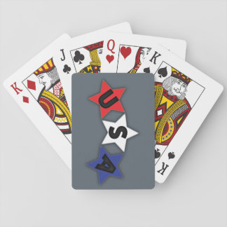 USA Stars Playing Cards