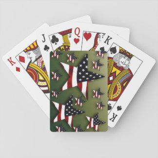 Usa stars playing cards