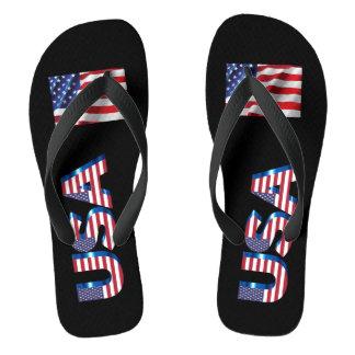 USA summer flip flops Thongs