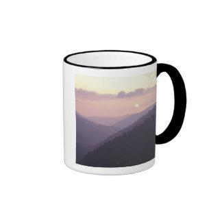 USA, Tennessee. Great Smokey Mountains 2 Ringer Mug