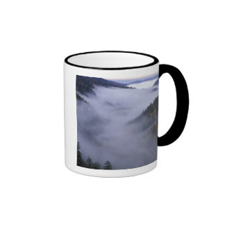 USA, Tennessee. Great Smokey Mountains National Ringer Coffee Mug